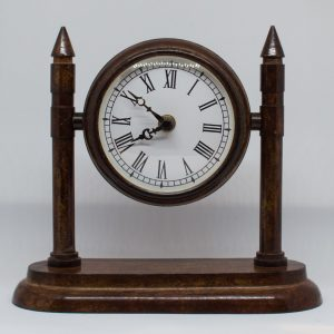Reloj peana art deco